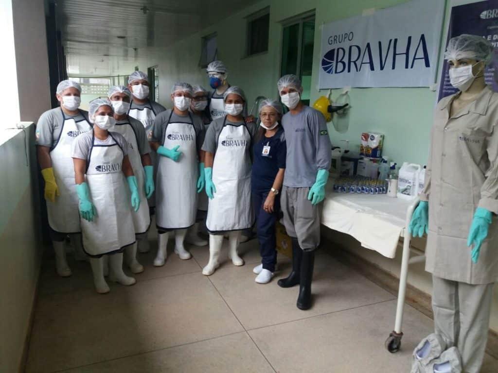 """Bravha participa da ação """"Saúde na Fronteira"""""""